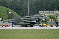 Poland - Air Force – Sukhoi Su-22 M-4 Fitter 7411