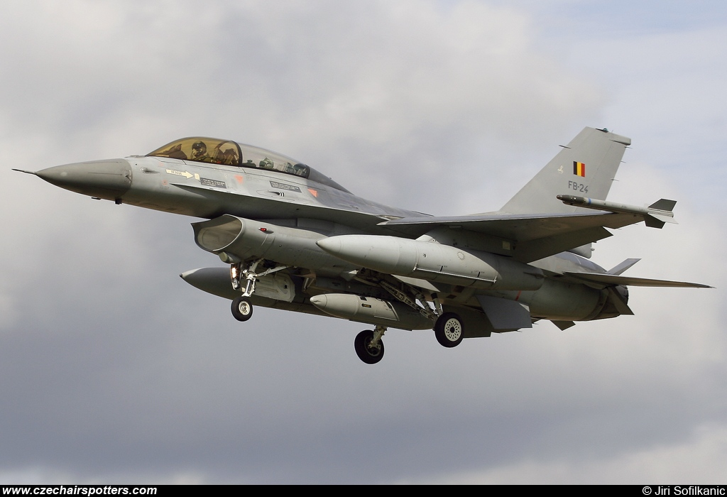 Belgium - Air Force – SABCA F-16BM Fighting Falcon FB-24