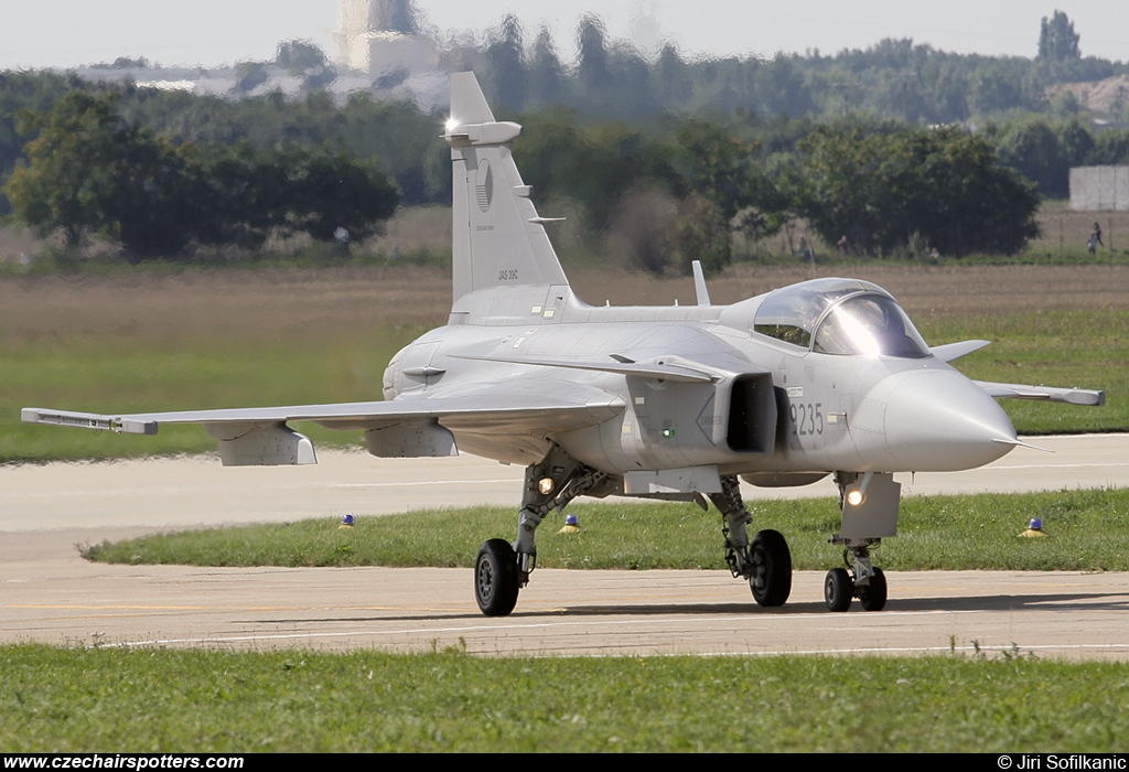Czech - Air Force – Saab JAS39C Gripen 9235