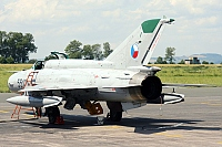 Czech - Air Force – Mikoyan-Gurevich MiG-21MF 5512