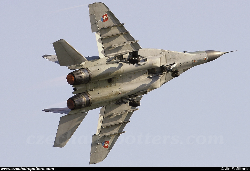 Slovakia - Air Force – Mikoyan-Gurevich MiG-29AS / 9-12A 2123