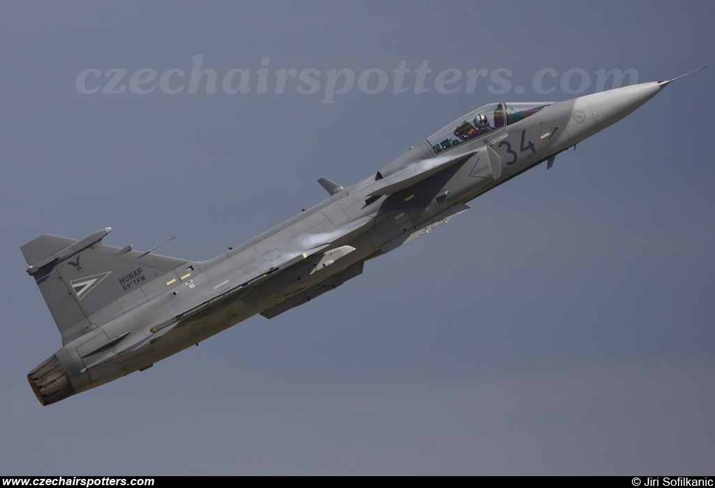 Hungary - Air Force – Saab JAS39C Gripen 34