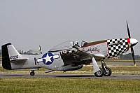 Old Flying Machine Company – Commonwealth CA-18 Mustang 22 (P-51D) G-HAEK / W