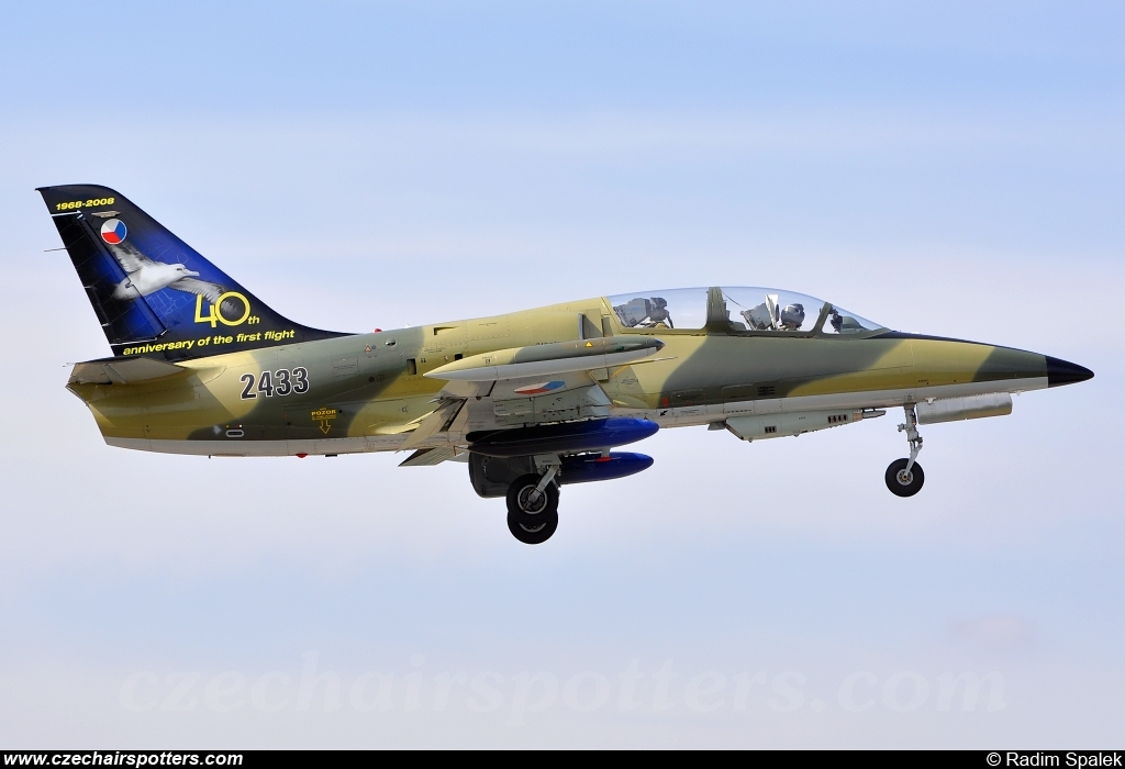 Czech - Air Force – Aero L-39ZA Albatros 2433