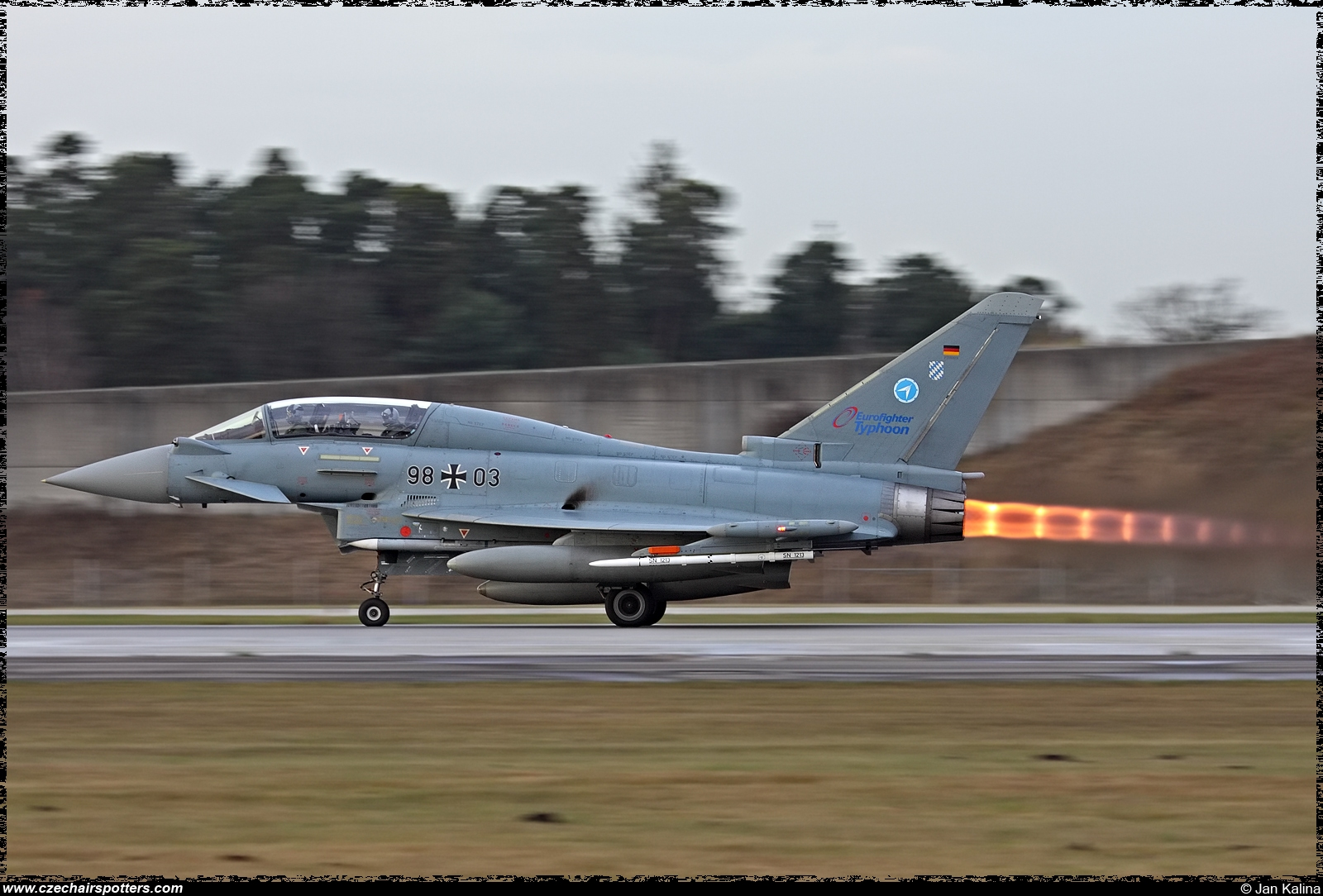 Germany - Air Force – Eurofighter EF-2000 Typhoon T 9803