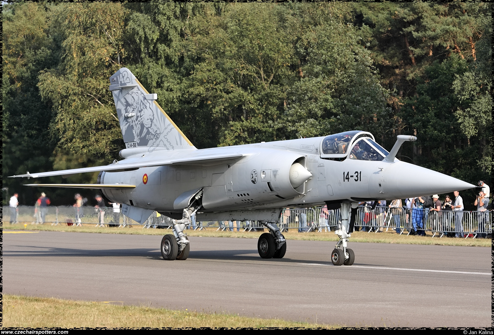 Spain - Air Force – Dassault Mirage F1EE(M) 14-31