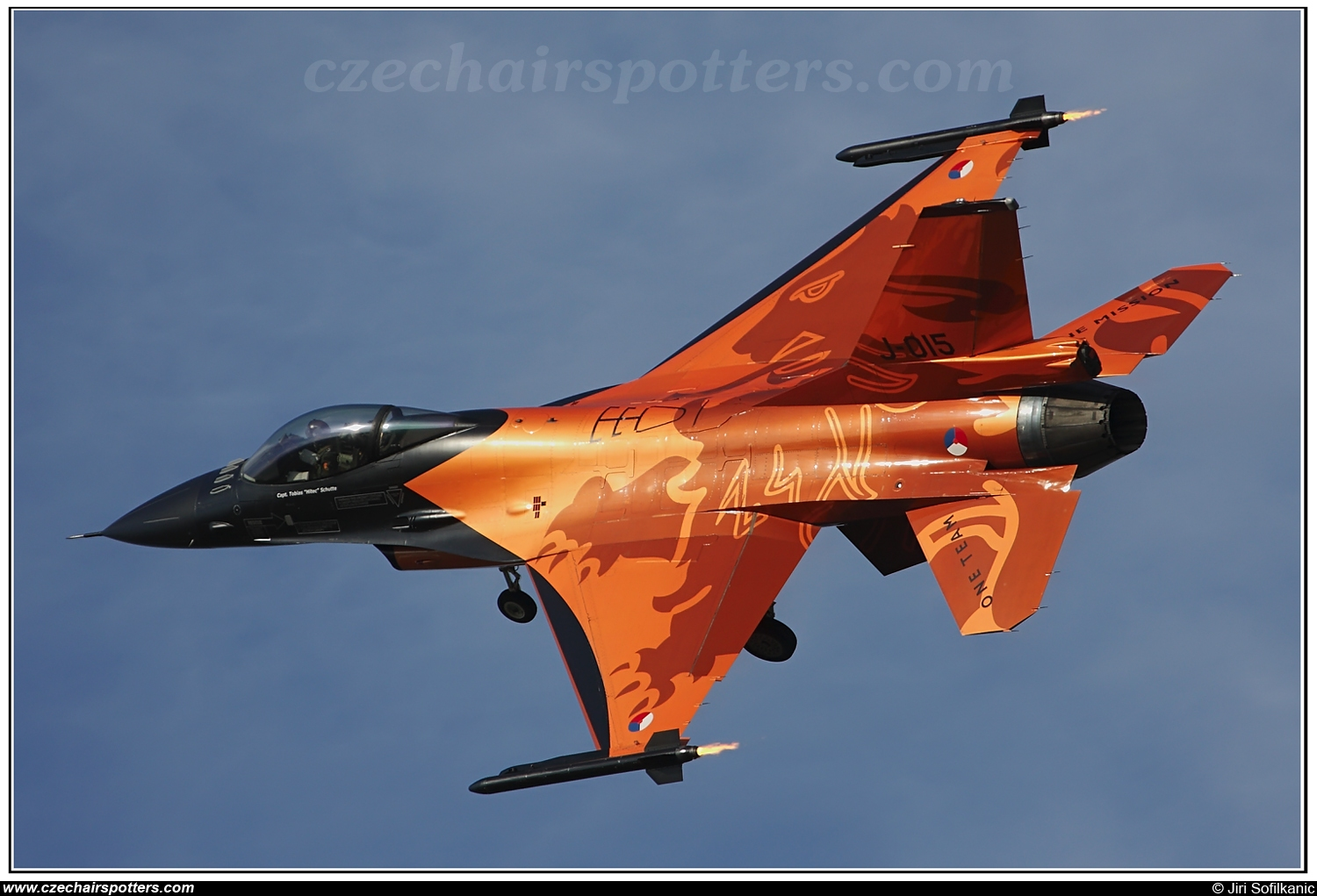 Netherlands - Air Force – Fokker F-16AM Fighting Falcon J-015
