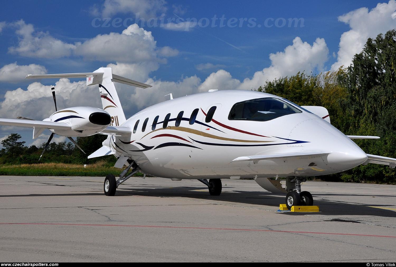 icarus aviation - piaggio aero p.180 avanti ii c-gpii