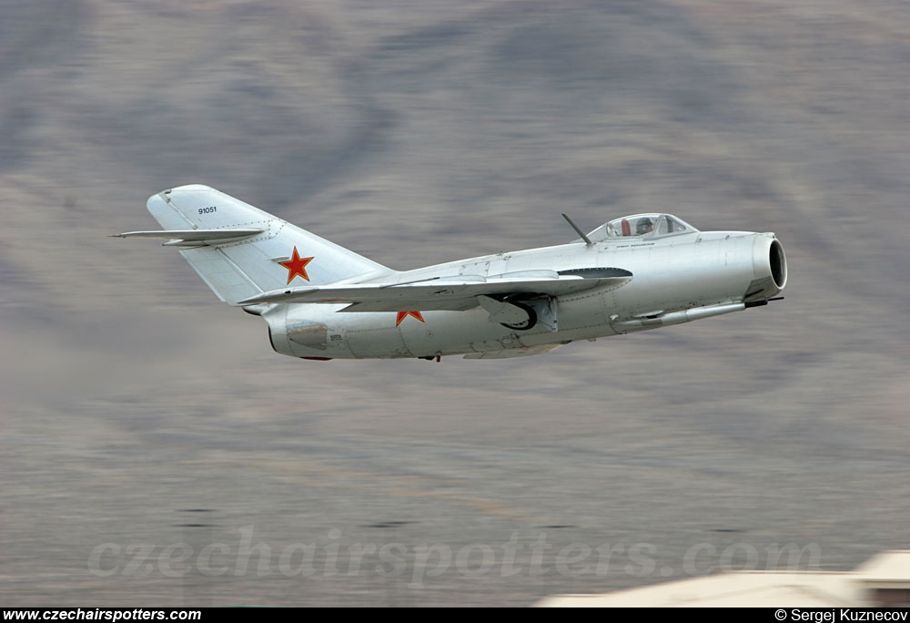 private – Mikoyan-Gurevich MiG-15bis N87CN