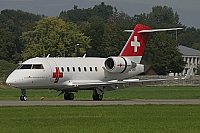 REGA - Swiss Air Ambulance – Canadair  CL-600-2B16 Challenger 604 HB-JRB