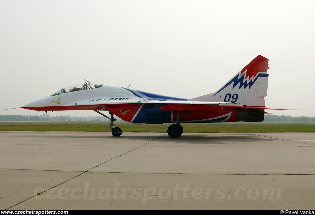 Russia - Air Force – Mikoyan-Gurevich MiG-29UB  / 9-51 09
