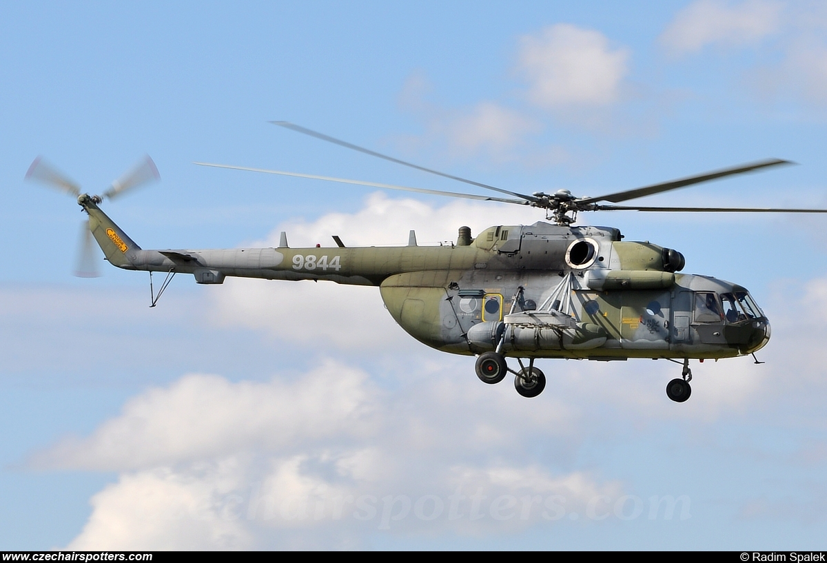 Czech - Air Force – Mil Mi-17-1(Sh) 9844