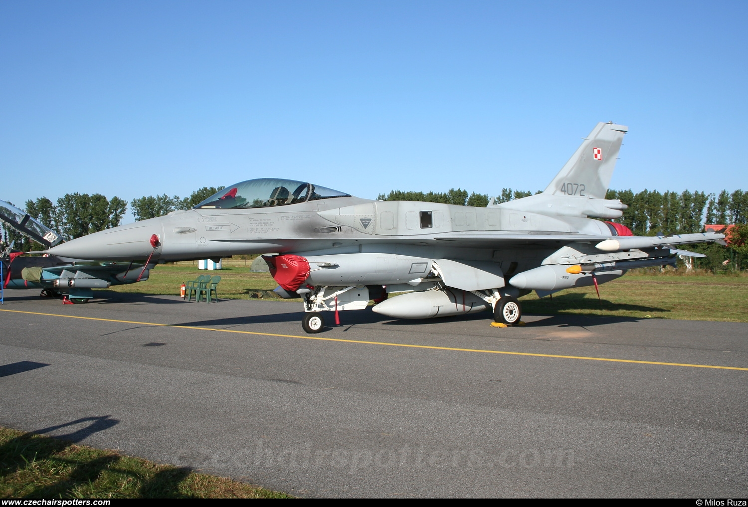 Poland - Air Force – General Dynamics F-16C Fighting Falcon 4072