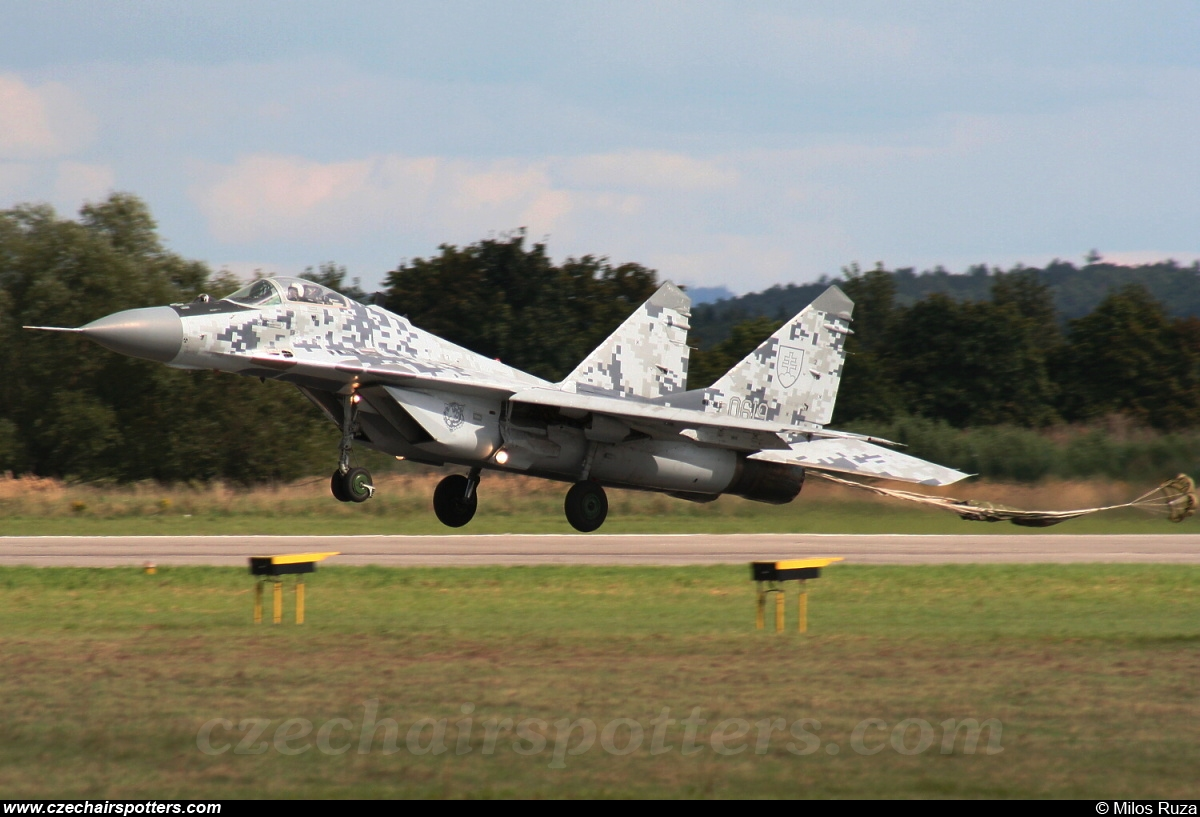 Slovakia - Air Force – Mikoyan-Gurevich MiG-29AS / 9-12A 0619