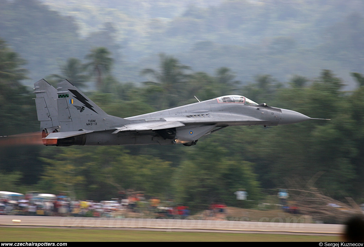Royal Malaysian Air Force – Mikoyan-Gurevich MiG-29N M43-13