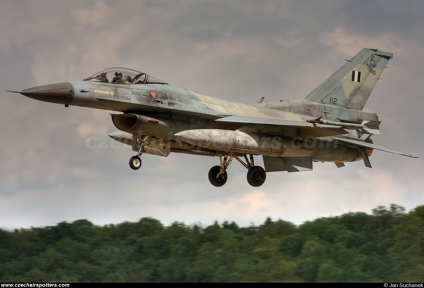 Greece - Air Force – General Dynamics F-16C Fighting Falcon 112