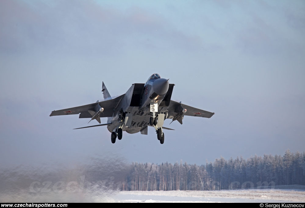 Russia - Air Force – Mikoyan-Gurevich MiG-31 A Foxhound 55