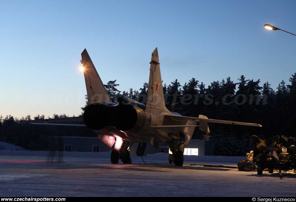 Russia - Air Force – Mikoyan-Gurevich MiG-31 A Foxhound 05