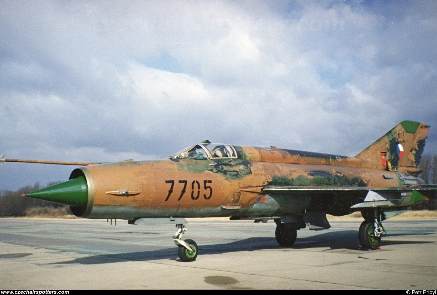 Czech - Air Force – Mikoyan-Gurevich MiG-21MF 7705