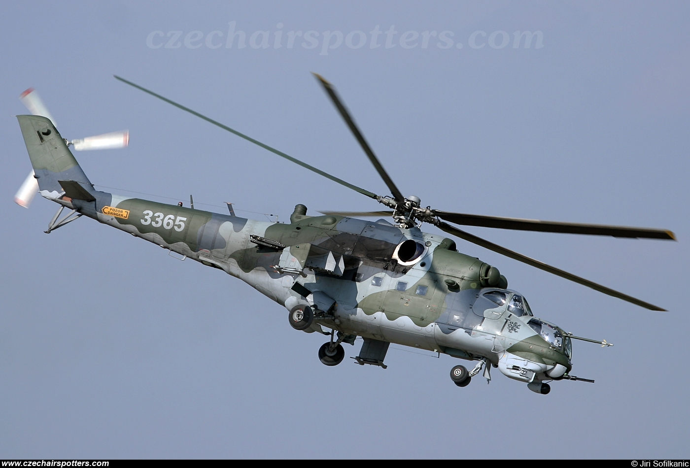 Czech - Air Force – Mil Mi-24V Hind 3365