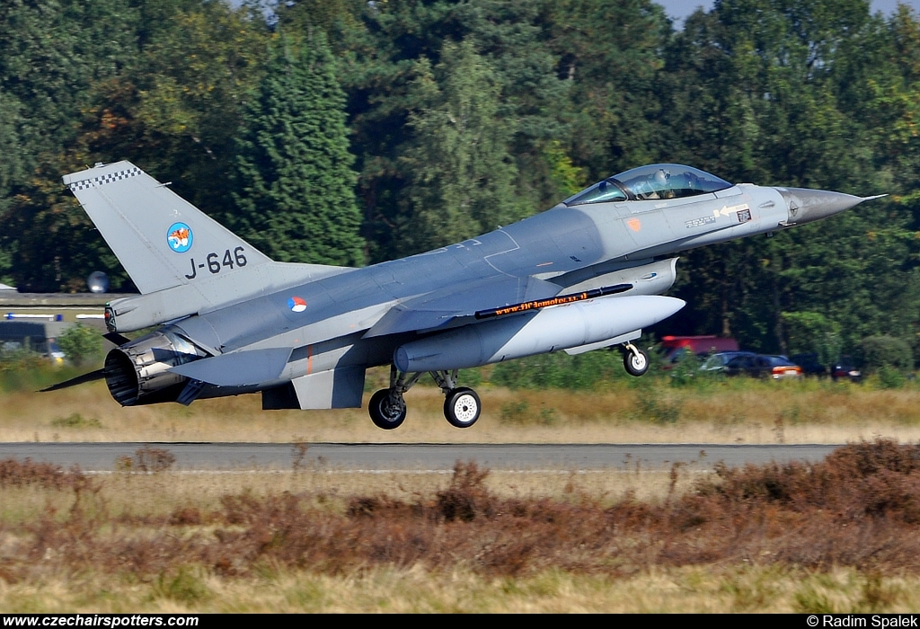 Netherlands - Air Force – Fokker F-16AM Fighting Falcon J-646