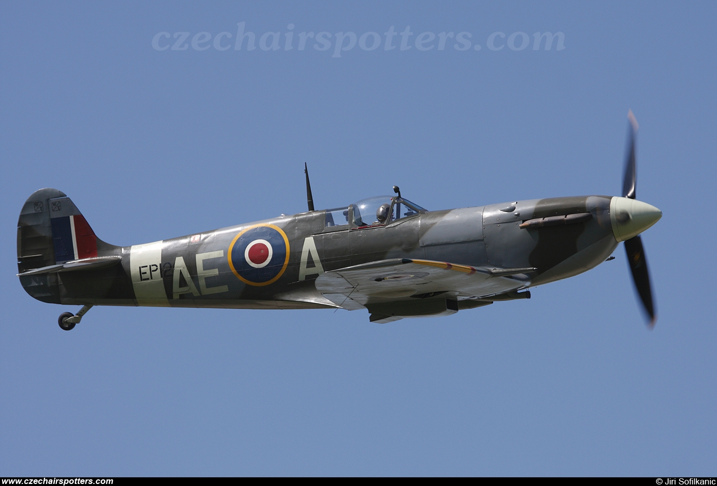 The Fighter Collection – Supermarine Spitfire Mk VB G-LFVB/  EP120/