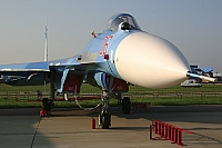 Russian-VVS – Sukhoi Su-27 SM Flancer 06 RED