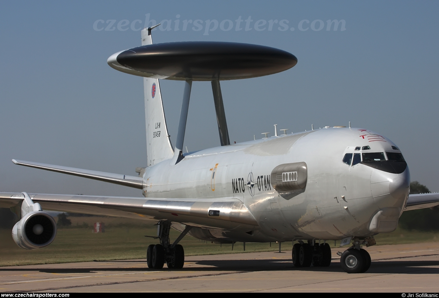 Luxembourg - NATO – Boeing E-3A Sentry LX-N90458