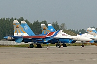 Russia - Air Force – Sukhoi Su-27 UB Flanker C 24