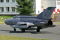 Czech - Air Force – Mikoyan-Gurevich MiG-21MF 9805