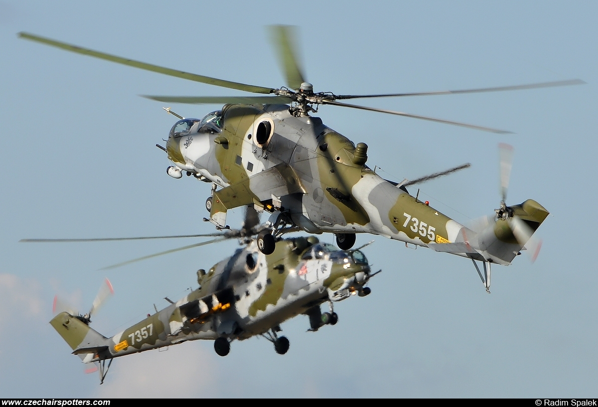 Czech - Air Force – Mil Mi-24V Hind 7355