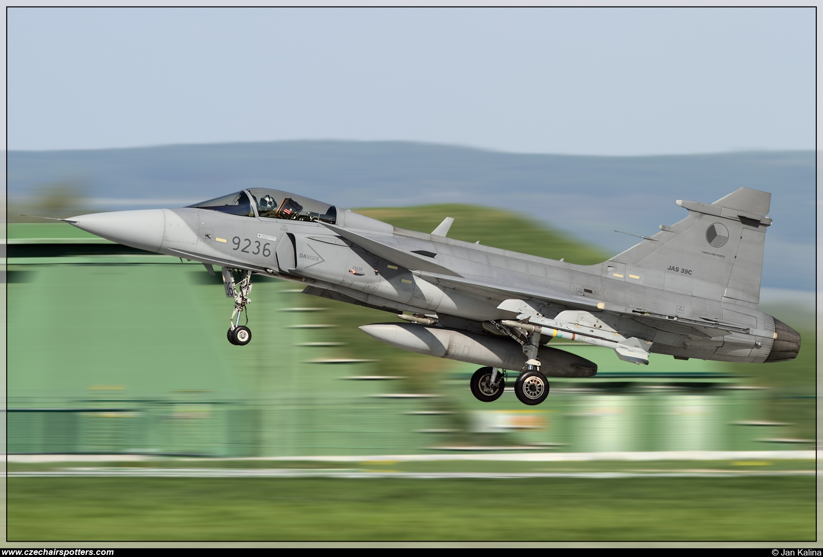 Czech - Air Force – Saab JAS39C Gripen 9236