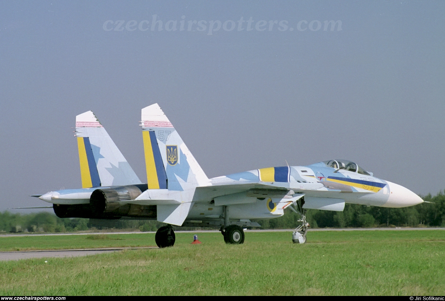 Ukraine - Air Force – Sukhoi Su-27 Flanker B 57