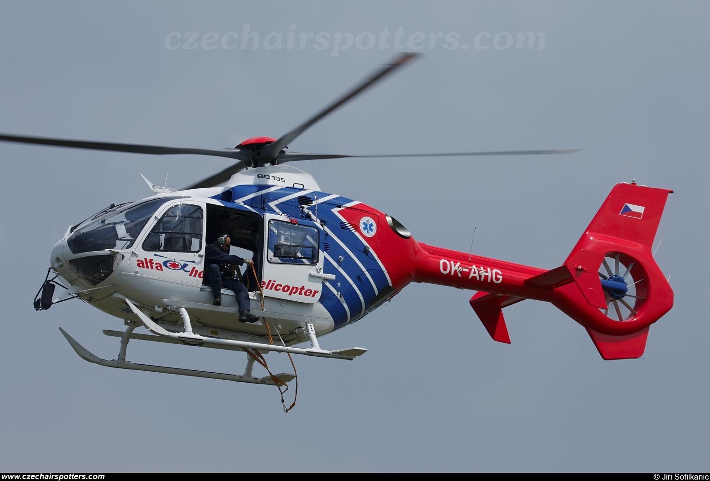 Elicottero Ec 135 : Alfa helicopter eurocopter ec t ok ahg