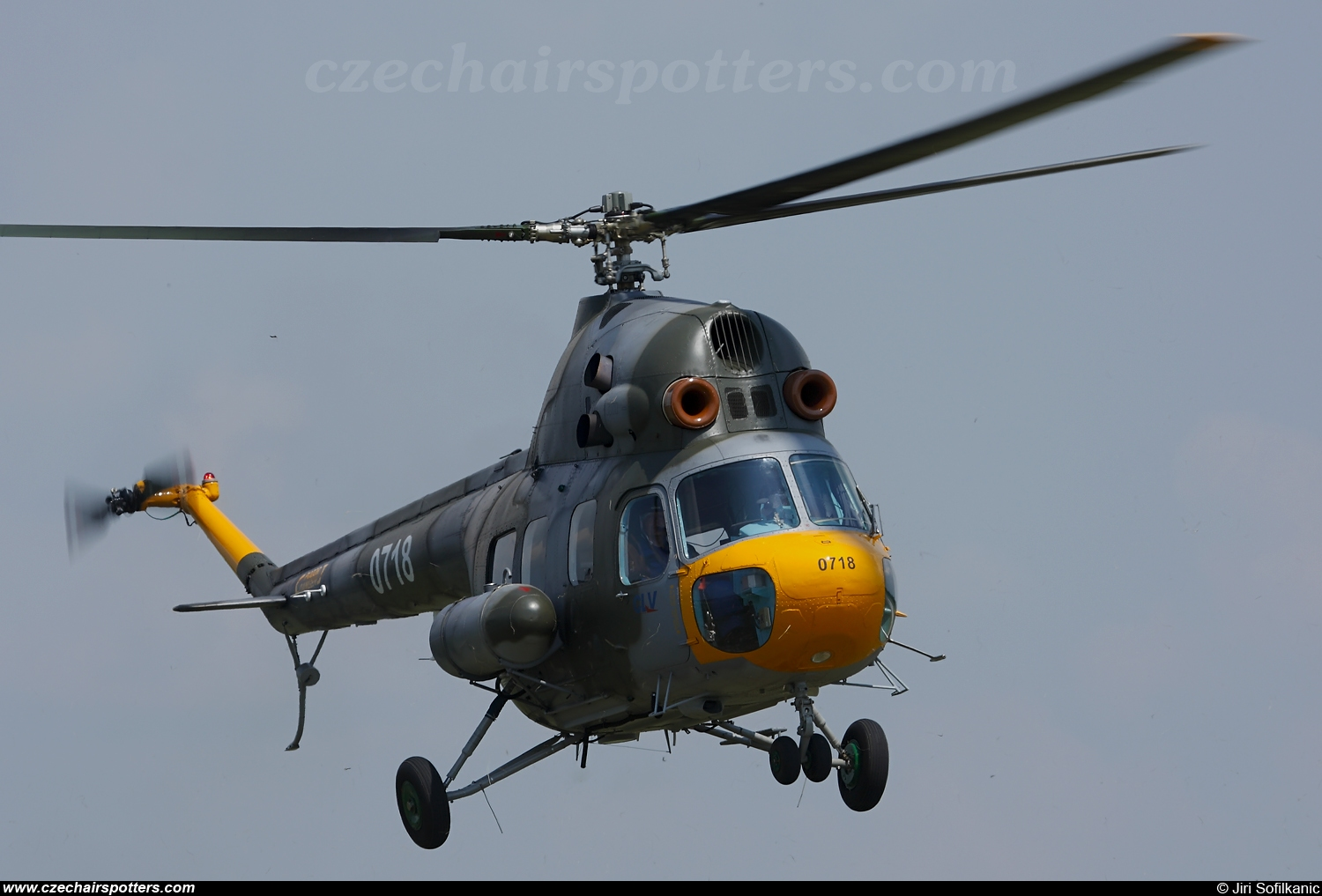 Czech - Air Force – PZL-Swidnik Mi-2 Hoplite 0718