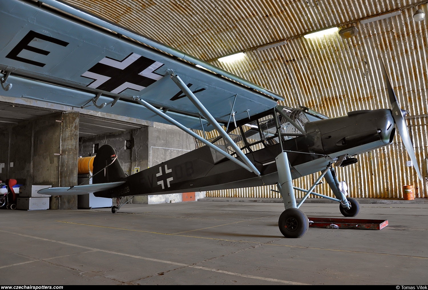 private – Fieseler  Fi-156C-3 Storch D-EVDB