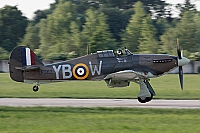 UK - Air Force – Hawker Hurricane Mk IIC LF363 / YB-W