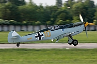 private – Hispano HA-1112-M1L Buchon G-BWUE / 10