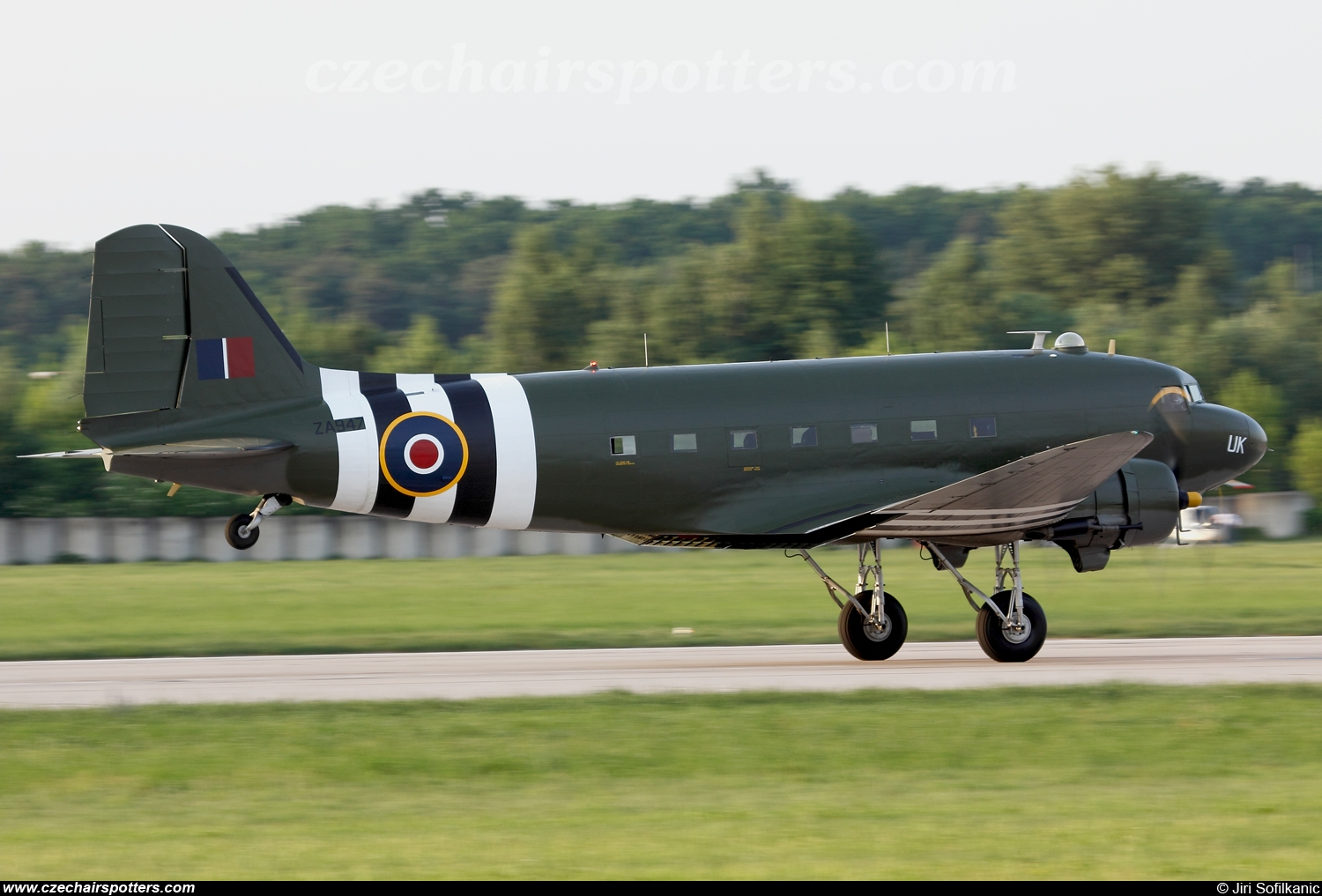 UK - Air Force – Douglas C-47A Dakota Mk.III ZA947