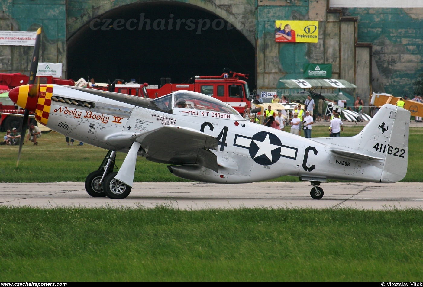 private – North American P-51D Mustang F-AZSB