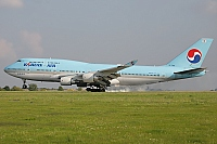 Korean Air (KAL) – Boeing B747-4B5 HL7491