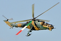 Hungary - Air Force – Mil Mi-24D Hind 574