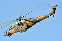 Hungary - Air Force – Mil Mi-24D Hind 582