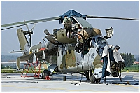 Czech - Air Force – Mil Mi-24V Hind 0835