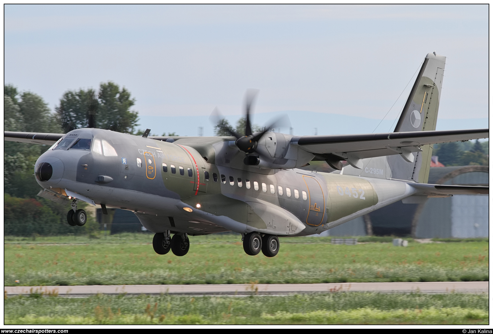 Czech - Air Force – CASA C-295M 0452