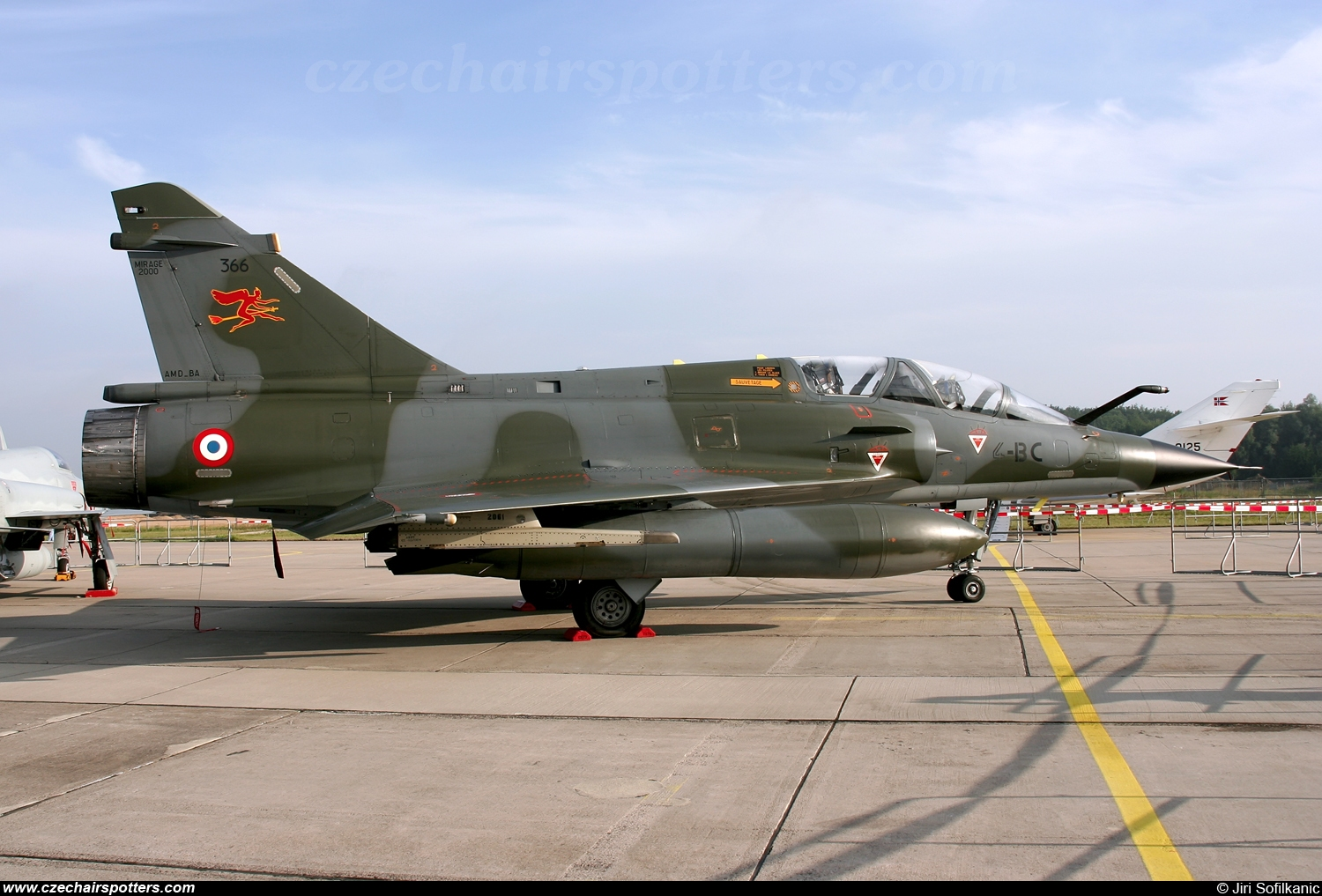 France - Air Force – Dassault Mirage 2000N 366 / 4-BC
