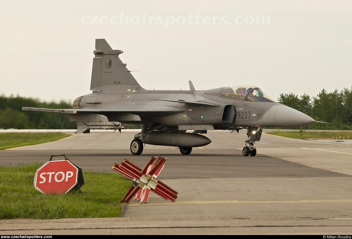 Czech - Air Force – Saab JAS39C Gripen 9237