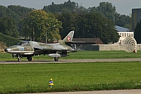 Swiss Hunter Team – Hawker Hunter T68 HB-RVR / J-4201
