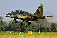 Ukraine - Air Force – Sukhoi Su-25 UBK Frogfoot 62