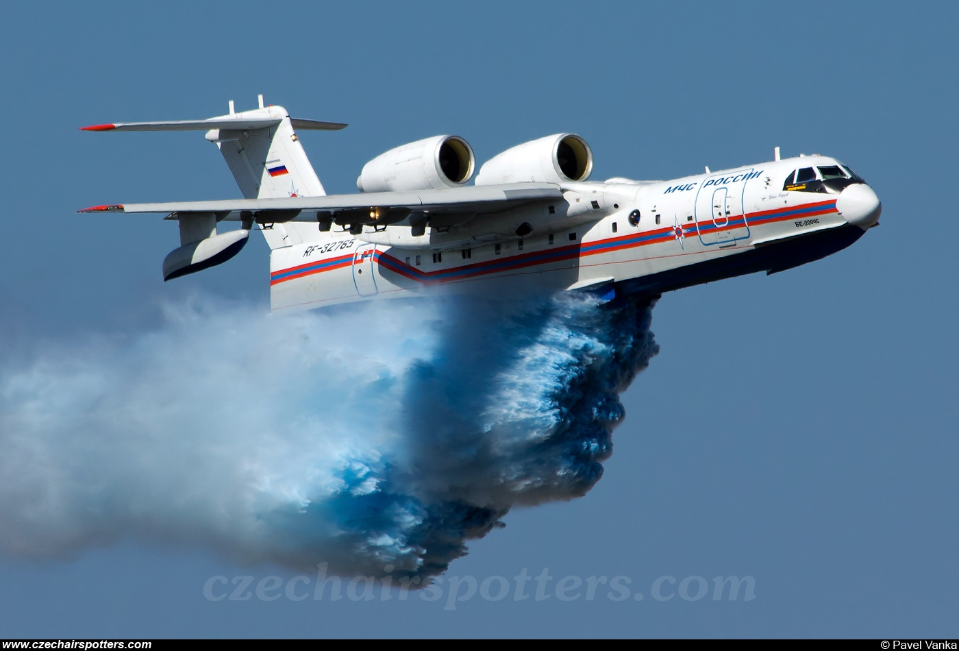 MChS Rossii - Russia Ministry for Emergency  – Beriev Be-200ChS Altair RF-32765